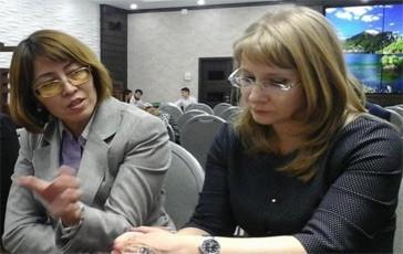 Диляра Арстанбаева (слева) и Наталья Байдакова