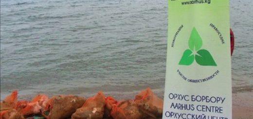 na-issyk-kule-provedena-aktsiya-po-ochistke-pribrezhnoj-zony-ozera